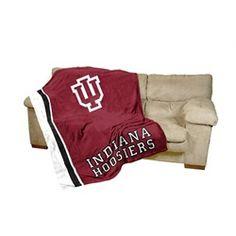 Indiana University Hoosiers IU Fleece Blanket Throw 84 x 54