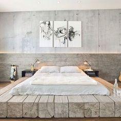Modern Rustic #bedroom #rustic