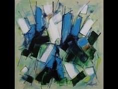 Watch Me Paint Abstract Art 2 by ARTBYLT.COM - YouTube