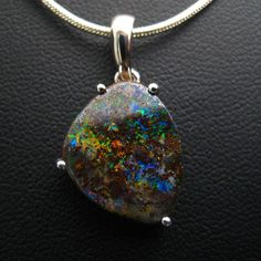Opal doesn't always need the razzle dazzle. Stripped down, bare. It's beautiful…
