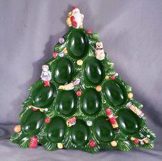 Spode Christmas Tree Deviled Egg Tray SS324-A10 #Spode