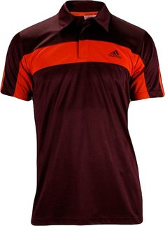 Stay cool and classy out on the court with this Galaxy Tee by Adidas. A wardrobe essential for any tennis player.