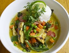 Coconut Curry Chicken and Vegetables is one of the dishes taught at the Just Cook! classes at Just Food.