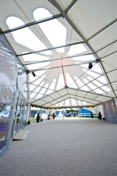 Award of Excellence for tent manufacturing: Custom Covers Tri-Cone Marquee
