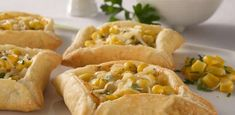 La Salteña | Recetas | Piquitos de Choclo Argentine Recipes, Hot Dog Buns, Macaroni And Cheese, Easy Meals, Easy Recipes, Tacos, Veggies, Mexican, Bread