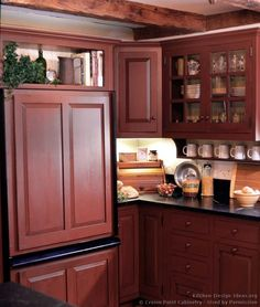 red distressed kitchen cabinets 1000 images about and black country kitchen on 4561