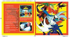 Battle of the Planets OST CD booklet spread. Client: Silva Screen Records. Circa 2004. © Sean Mowle.