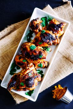 Charred Coconut Chicken