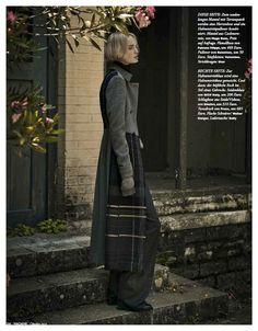 Madame Germany Editorial October 2014 - Nicola Haffmans by Thanassis Krikis