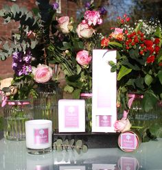 """Oakes """"Pink Pepper, Fig & Pomegranate"""" Eco Friendly Candle & Eco Friendly Diffuser Range"""