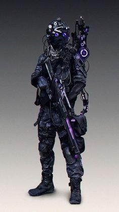 Ideas For Futuristic Concept Art Character Design Cyberpunk Arte Ninja, Arte Robot, Robot Concept Art, Armor Concept, Arte Cyberpunk, Cyberpunk Fashion, Futuristic Armour, Futuristic Helmet, Character Design Cartoon