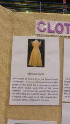 Filipino dress