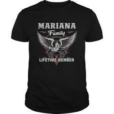 Mariana Family Lifetime Member Shirt Gift Idea For Mariana => Check out this shirt by clicking the image, have fun :) Please tag, repin & share with your friends who would love it. #hoodie #ideas #image #shirt #tshirt #sweatshirt #tee #gift #perfectgift #birthday #Christmas