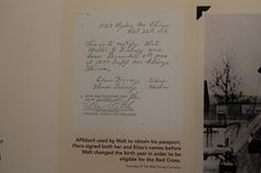 Walt Disney drove General Pershing's son around in France during WW1 - cool fact!