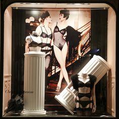 Juillet 2014 Vitrine Boutique Chantal Thomass 211 Rue Saint Honoré Paris #ChantalThomass #Lingerie #Paris