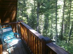 Forest View of the towering fragrant pines from the Master Bedroom patio