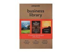 Patagonia's Business Library is a toolkit for all shareholders of the planet