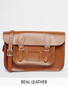 "The Leather Satchel Company 12.5"" Satchel"