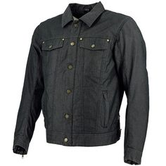 Richa Denim Legend Textile Jacket - Black Thumb 0