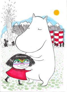 Björk continues to be superior. #bjork #mumin