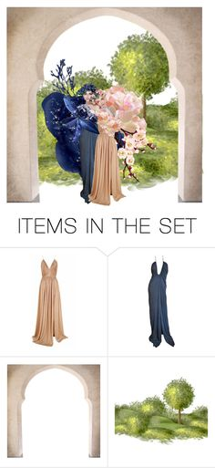 """Flower Fairies"" by shistyle ❤ liked on Polyvore featuring art"