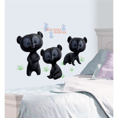 Brave Three Brother Bears Giant Wall Decals RMK1939GM  $18.49