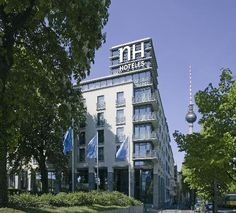 NH Berlin Alexanderplatz -- the hotel we are staying at during the meeting