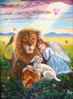122 Best Lion And Lamb Images Lion Lamb Word Of God Faith