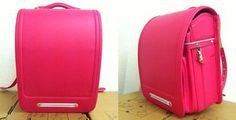 school bag A4 size fit Pink leatehr Randoseru Overseas Back pack F/S No Reserved