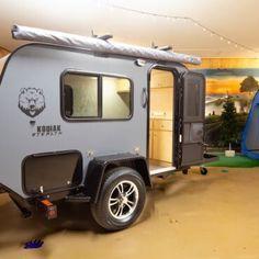 Small Camper Trailers, Teardrop Camper Trailer, Off Road Camper Trailer, Tiny Camper, Small Trailer, Small Campers, Cool Campers, Truck Camper, Travel Trailers