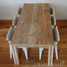 Marktplaats.nl > geweldige steigerhout tafel eettafel op maat +gratis ...