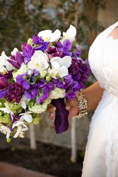 Lush, exotic bride's bouquet by Wine Country Flowers, Photography |Megan Clouse, Planning and Design|Tamara J Events, Venue|Jacuzzi Family Vineyards -Sonoma, CA