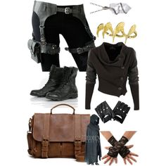 Post apocalyptic by gameboyet on Polyvore featuring Roots, Bjørg, Pamela Love and Vivienne Westwood Anglomania