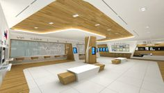 Amway show room by carmen leung, via Behance