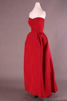 Evening Dress, Christian Dior, 1952
