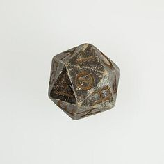 museum-of-artifacts 2000 year old Egyptian 20 sided dice with Greek characters. Source:museum-of-artifacts Ancient Romans, Ancient Egypt, Ancient History, Ancient Greece, European History, Ancient Aliens, American History, Historical Artifacts, Ancient Artifacts