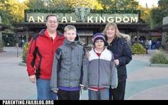 Can you see whats wrong with this Family picture?