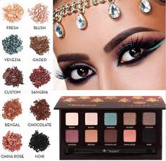 Anastasia Beverly Hills Tamanna Palette. This stunning LE palette is available NOW!
