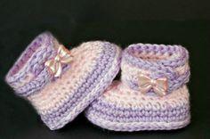 Fuzzy Booties Free Pattern - Crochetville