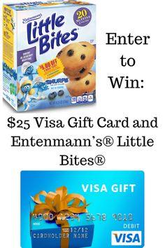 Entenmann's® Little Bites® + Smurfs = Blueberry Muffins #LoveLittleBites #SmurfsMovie (& $25 Visa Giveaway Ends 7/31) - Mom and More