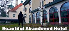 This beautiful abandoned hotel is one of the most interesting places I have ever visited. It made me think about story..and I will tell you about it during my exploration. I think that everyone might find something there. Thank you for your subscribe on my YouTube channel. It keeps me motivated :)