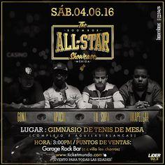 All Star Show Case  2016 con Apache, Lil' Supa,  Akapellah y Gona en Mérida http://crestametalica.com/all-star-show-case-2016-%e2%80%8bapache-lil-supa-akapellah-gona-merida/ vía @crestametalica
