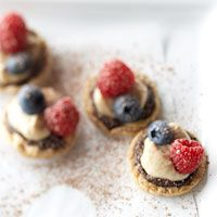 Berry and Caramel Cream Bites - I want to try this with something other than cream cheese...
