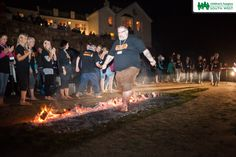We had an amazing evening for our Firewalk at Marazion - fantastic setting, full moon, St Michael's Mount looked stunning lit up in the background!  Find out more about taking part in fundraising events for Children's Hospice South West by visiting our website >> www.chsw.org.uk/fundraising-events #chsw #firewalk #charity #childrenshospice #marazion