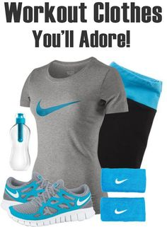 Workout Clothes You'll Adore!  fashion gym clothes tanktops workout clothing nike cheap apparel adidas 