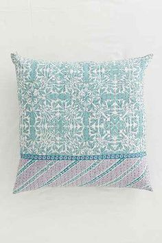 Plum & Bow Gia Kantha Pillow - Urban Outfitters