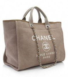 291b1d24237e There are a variety of tote bags for everyday use that can be taken to the  beach. Some of the popular styles includes the Chanel Deauville Canvas Tote,