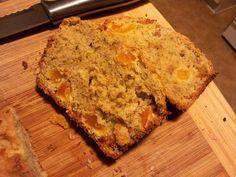 Zucchini and Apricot Bread Recipe Apricot Bread Recipe, Good Food, Yummy Food, Zucchini Bread, Bread Recipes, Yummy Treats, Banana Bread, Breads, Biscuits