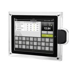 ProTablet - Acrylic iPad POS Case (For Magtek iDynamo), $169.00 (http://www.pro-tablet.com/tablet-enclosures/acrylic-ipad-pos-case-for-magtek-idynamo/)