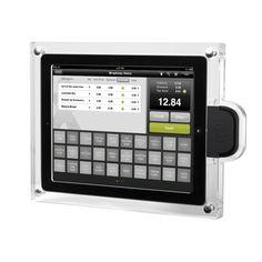 ProTablet - Acrylic iPad POS Case (For Magtek iDynamo), $169.00 (http://www.pro-tablet.com/tablet-enclosures/acrylic-ipad-pos-case-for-magtek-idynamo/)